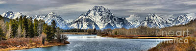 Photograph - Spring Panorama At Oxbow Bend by Adam Jewell