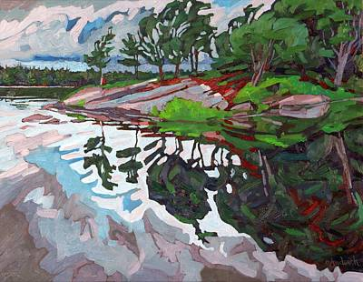 Thousand Islands Painting - Spring Paradise by Phil Chadwick