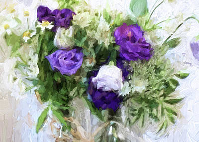 Digital Art - Spring Passion by Sarah Vernon
