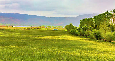 Photograph - Spring Pastoral by Nancy Marie Ricketts
