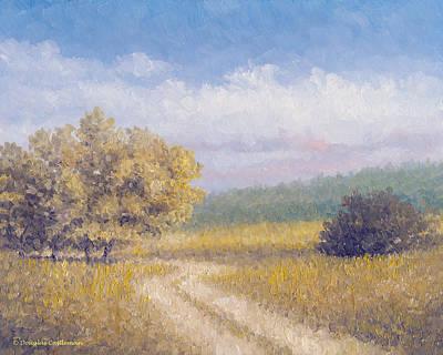 Painting - Spring Path Rancho Palos Verdes by Douglas Castleman