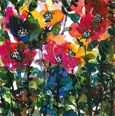 Painting - Spring Petals by Garima Srivastava