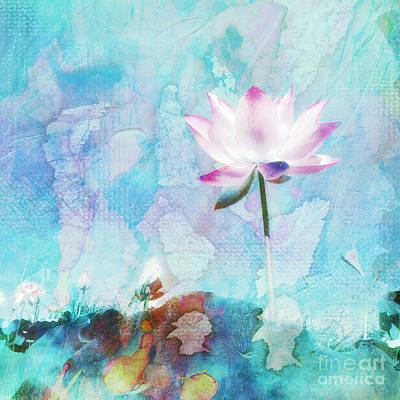 Flower Blooms Mixed Media - Spring by Jacky Gerritsen