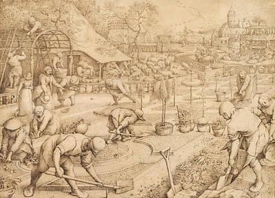 Spring Art Print by Pieter Bruegel the Elder