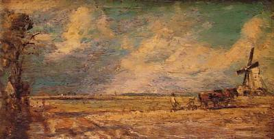 Painting - Spring Ploughing 1821 by Constable John
