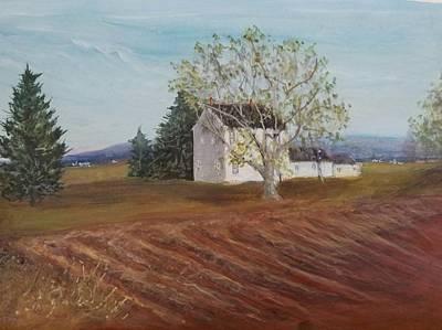 Painting - Spring Plowing by Robert Harrington