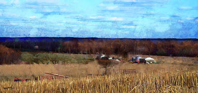 Photograph - Spring Plowing Soon by Spyder Webb