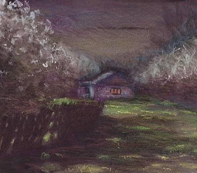 Moonlit Night Mixed Media - Spring Poetry by Tanja Panasjuk