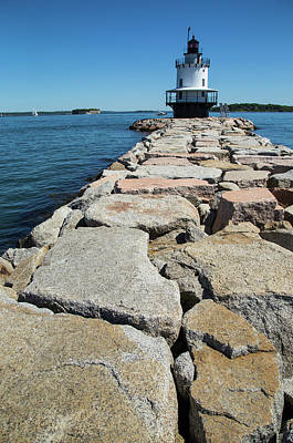 Photograph - Spring Point Ledge by Karol Livote