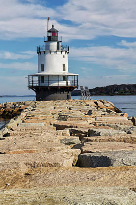 Photograph - Spring Point Ledge Light by Arthur Dodd