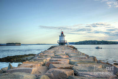 Photograph - Spring Point Ledge Light by Jean Hutchison