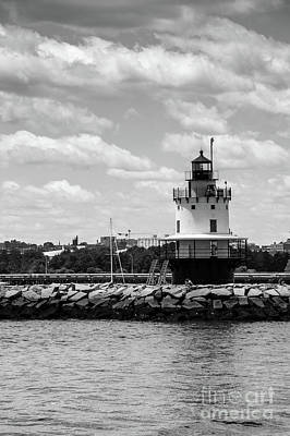 Photograph - Spring Point Ledge Lighthouse Maine  by Cathie Richardson