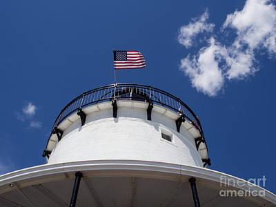Photograph - Spring Point Ledge Lighthouse, South Portland, Maine #30011 by John Bald