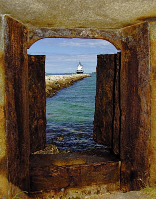 Photograph - Spring Point Light by Gary Shepard