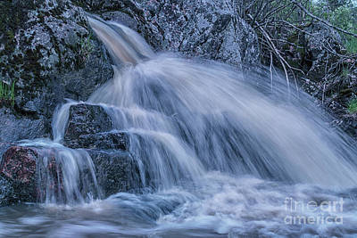 Creek Photograph - Spring Power by Veikko Suikkanen