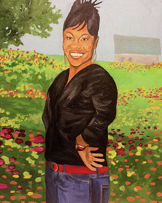 Painting - Spring Queen by Angelo Thomas