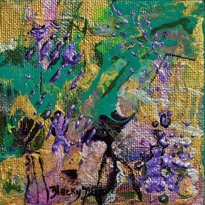 Painting - Spring Rain by Donna Blackhall