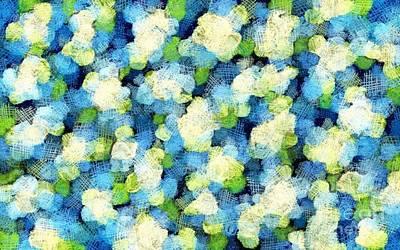 Digital Art - Spring Rain by Honey Brown