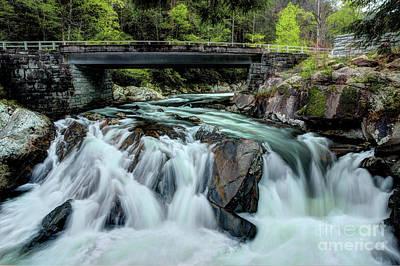 Photograph - Spring Rain Under The Bridge by Michael Eingle