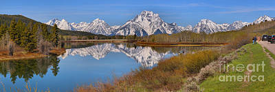 Photograph - Spring Reflections At Oxbow Bend by Adam Jewell