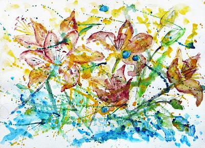Spring Rhapsody Art Print