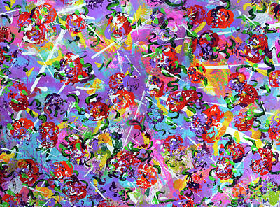 Painting - Spring Riot by Alys Caviness-Gober
