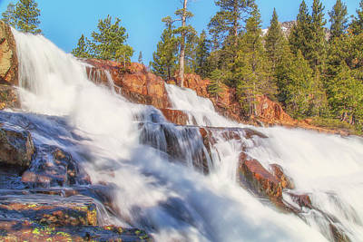 Photograph - Spring Runoff At Glen Alpine Falls by Marc Crumpler