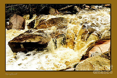 Digital Art - Spring Runoff by Deborah Nakano