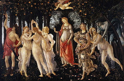 Early Painting - Spring  by Sandro Botticelli