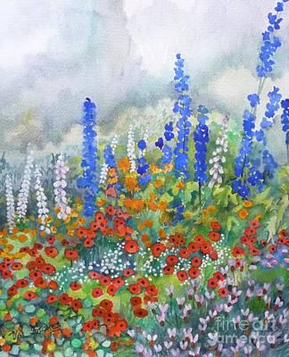 Spring Serenade Art Print by Val Stokes