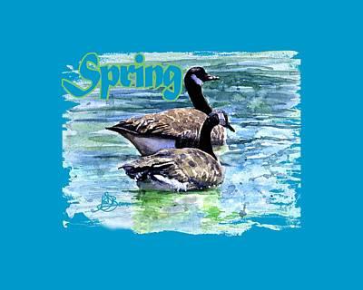 Painting - Spring Shirt by John D Benson