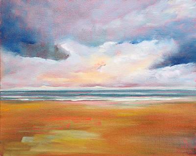 Painting - Spring Skies by Trina Teele