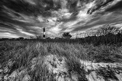 Spring Sky At Fire Island Art Print