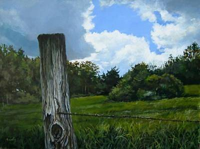 Painting - Spring Sky by William Brody