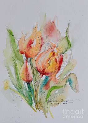 Spring Smiles Art Print