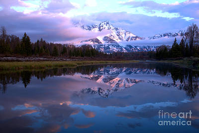 Photograph - Spring Snake River Reflections by Adam Jewell