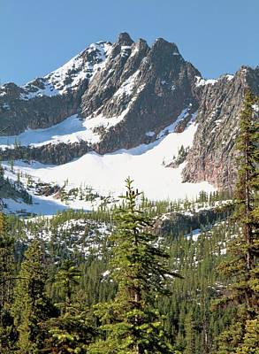 Photograph - Spring Snow On The North Cascades Mountain Range by Dan Sproul