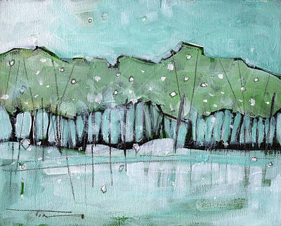 Painting - Spring Snow by Tim Nyberg