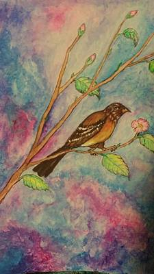 Painting - Spring Song by Janice T Keller-Kimball