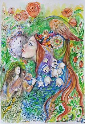 Mixed Media - Spring Song by Rita Fetisov