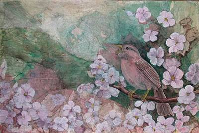 Spring Song Art Print by Sandy Clift