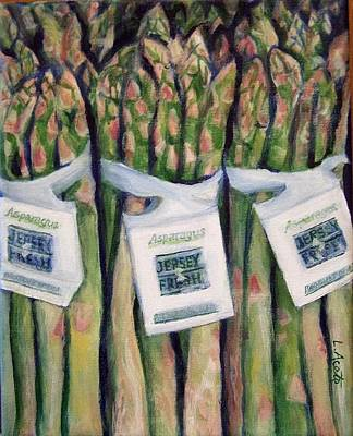 Painting - Spring Spears by Laura Aceto