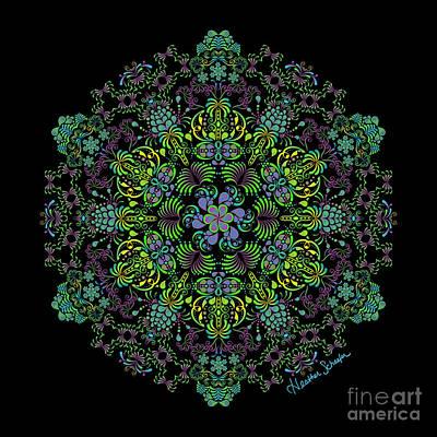 Digital Art - Spring Spiral by Heather Schaefer
