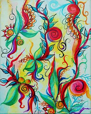 Painting - Spring Sprouts by Christiane Hellner-OBrien