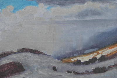 Painting - Spring Squall Over Airyhill by Len Stomski