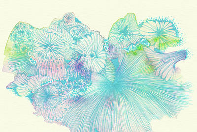 Spring - #ss18dw008 Art Print by Satomi Sugimoto