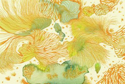 Spring - #ss18dw014 Art Print by Satomi Sugimoto
