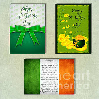 Digital Art - Spring St. Patty's Day by JH Designs