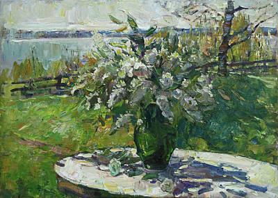 Painting - Spring Stillife by Juliya Zhukova