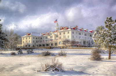 Photograph - Spring Storm At The Stanley Hotel by G Wigler